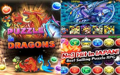 Puzzle & Dragons PAD Screenshot 1
