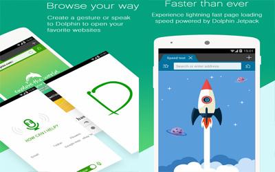 Dolphin Browser Screenshot 1