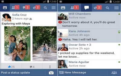 Facebook Lite Screenshot 1