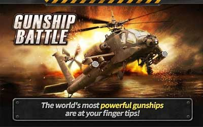 GUNSHIP BATTLE : Helicopter 3D Screenshot 1