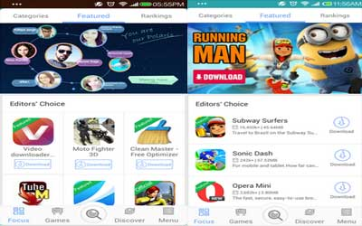 MoboMarket Screenshot 1