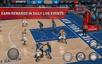 NBA LIVE Mobile Screenshot 1