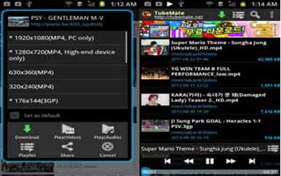 TubeMate Screenshot 1
