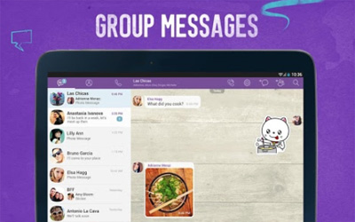 Viber Screenshot 1
