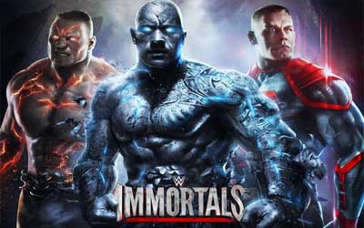 WWE Immortals Screenshot 1