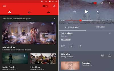 YouTube Music Screenshot 1