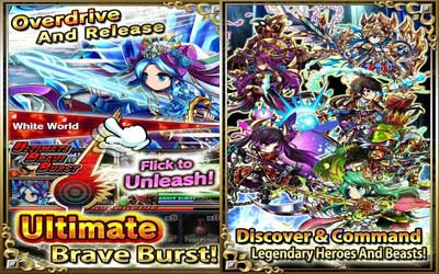 Brave Frontier Screenshot 1
