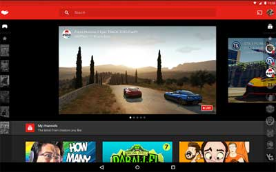 YouTube Gaming Screenshot 1
