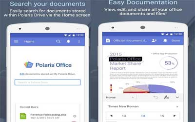 Polaris Office + PDF Screenshot 1