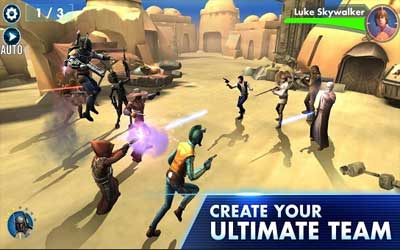 Star Wars™: Galaxy of Heroes Screenshot 1
