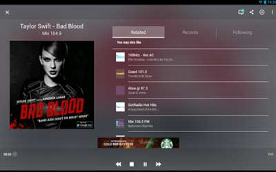 TuneIn Radio Screenshot 1