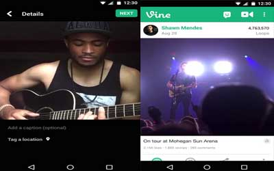 Vine Screenshot 1