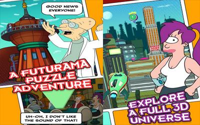 Futurama: Game of Drones Screenshot 1