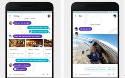 Google Allo Screenshot 1