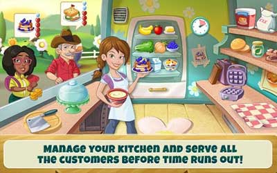 Kitchen Scramble Screenshot 1