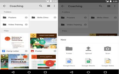 Google Drive Screenshot 1