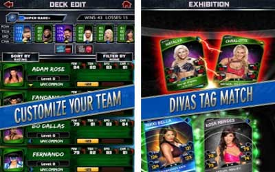 WWE SuperCard Screenshot 1